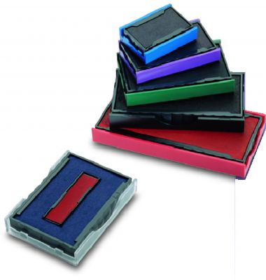 Lot de 3 cassettes d'encrage Colop E/54/2 (bicolore)